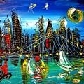 City by Mark Kazav