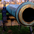 Civil War Cannon 1862 In Gettysburg Pa by Travel Back And Forth