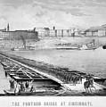 Civil War: Pontoon Bridge by Granger