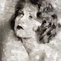 Clara Bow Vintage Hollywood Actress by Mary Bassett
