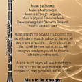Clarinet Why Music Picture Or Poster  4825.02 by M K Miller