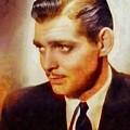 Clark Gable, Vintage Hollywood Actor by Sarah Kirk