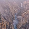 Classic Lower Falls by Luis A Ramirez