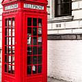 Classic Red London Telephone Box by John Williams