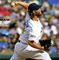 Clayton Kershaw, Los Angeles Dodgers by Thomas Pollart