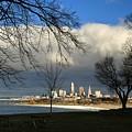 Cleveland Winter Dawn by Douglas Sacha