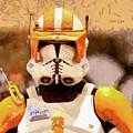 Clone Trooper Commander - Free Style Style by Leonardo Digenio