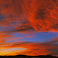 Clouds In The Sky At Sunset, Taos, Taos by Panoramic Images