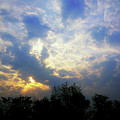 Cloudy Sunrise by Atullya N Srivastava