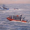 Coast Guard In Pursuit by William H RaVell III