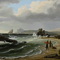 Coastal Scene by Thomas Birch
