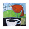 Coffee With Red Bird by Tim Nyberg
