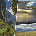 Collage Of Table Mountain Roraima by Mariusz Prusaczyk