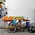 Colombia Fruit Cart by Brett Winn