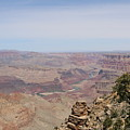 Colorado River Flowing Though Grand Canyon - 8 by Christy Pooschke