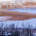 Colorado River In Winter by Deborah Hughes