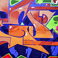 Colorful Abstract Street Art  by Tomi Junger