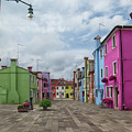Colorful Burano by Dave Mills