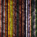 Colorful Vertical Stripes Background In Vintage Retro Style by Michal Bednarek