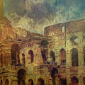 Colosseo Rome by Leigh Kemp