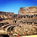 Colosseum Interior by Angela Rath