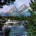 Colter Bay In The Tetons by Margie Wildblood