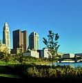 Columbus Ohio Panorama by Mountain Dreams