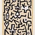 Comedians' Handbill by Paul Klee