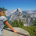 Contemplating Glacier Point by Benny Marty