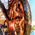 Copper Bike Liberty Ambassador Ny by Chuck Kuhn