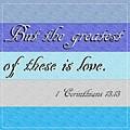 1 Corinthians 13 by Eloise Schneider Mote