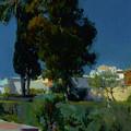 Corner Of The Garden, Alcazar, Sevilla by Mountain Dreams