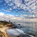Corona Del Mar Shoreline by Eddie Yerkish