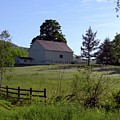 Country Barn by Donna Cavanaugh