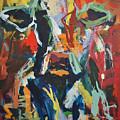 Cow Painting by Robert Joyner