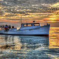 Crabbing Boat Donna Danielle - Smith Island, Maryland by Greg Hager