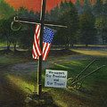 Cross Of Remembrance by Randy Welborn