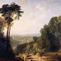 Crossing The Brook by JMW Turner