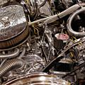 Custom Car Chromed Engine by Oleksiy Maksymenko