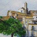 D Alt Vila Ibiza Old Town by Lizzy Forrester