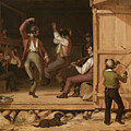 Dance Of The Haymakers by William Sydney Mount