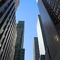 Dark Manhattan Skyscrapers by Jannis Werner