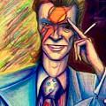 David Bowie by David Weinholtz