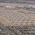 Davis-monthan Air Force Base Airplane by Terry Moore