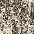 Death Of The Virgin by Martin Schongauer