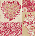 Deco Heart Red by JQ Licensing