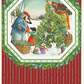 Decorating The Tree by Lynn Bywaters