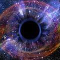 Deep Black Hole, Like An Eye In The Sky by Alain De Maximy