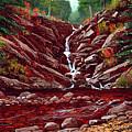 Deepwoods Cascade by Frank Wilson