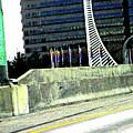 Denver Mile Marker by Lenore Senior